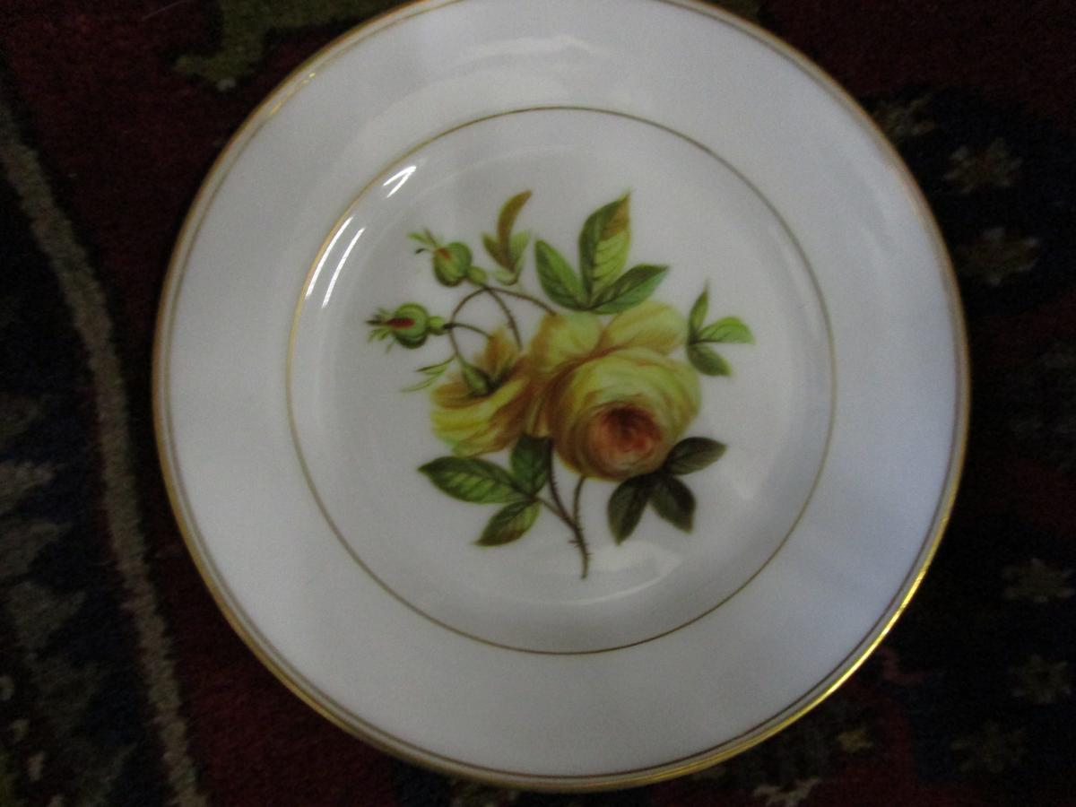 3 Plates From Sevres Porcelain