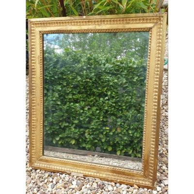 Golden Mirror Louis XVI Period Mercury