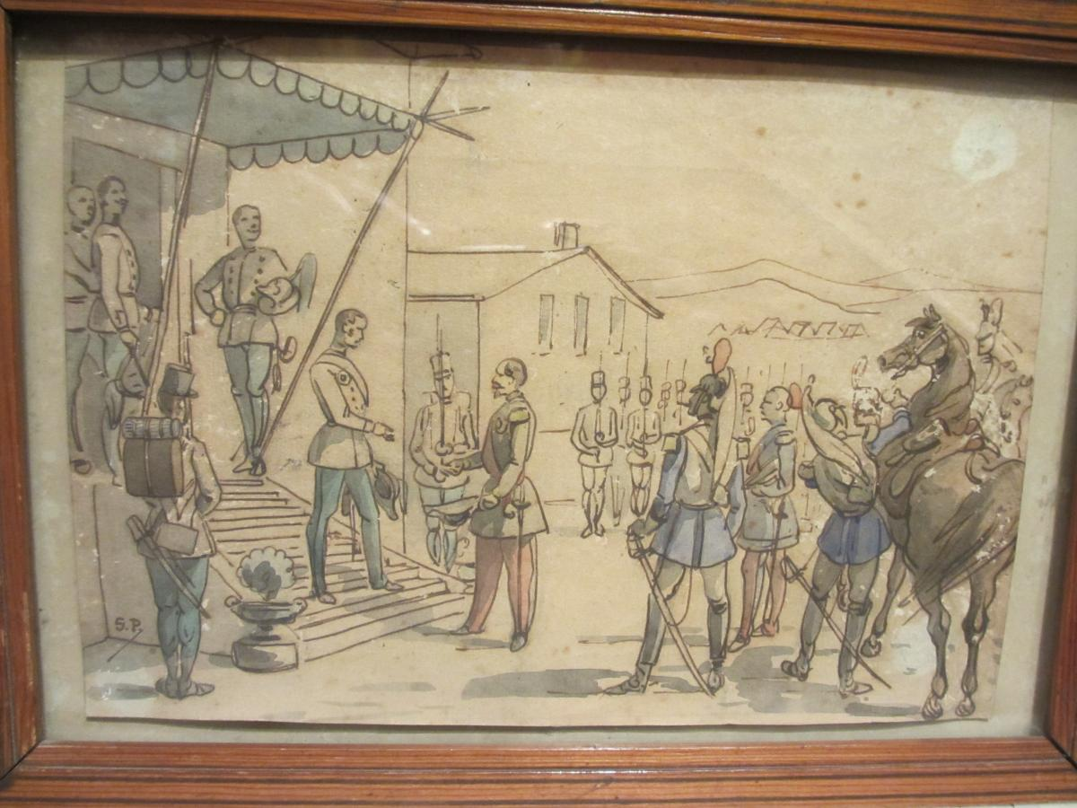 Military Scene