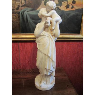 Maternité En Albâtre .