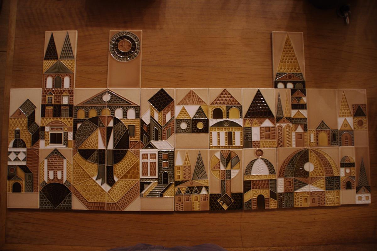 27 carreaux muraux de roger capron autres c ramiques for Carreaux muraux