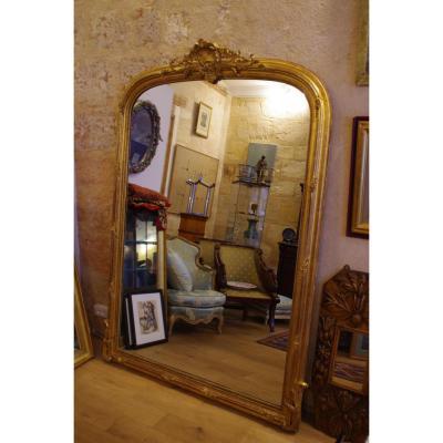 Important Miroir De Style Louis XV