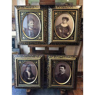 Suite Of 4 Large Napoleon 3 Frames