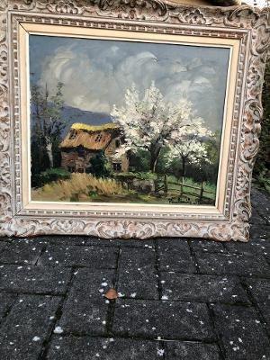 Peinture Paul Emile Pissaro Huile Sur Toile