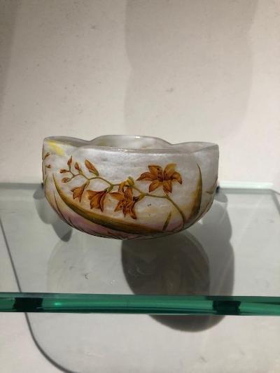Daum A Nancy Cup Art Nouveau