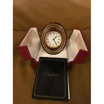 Cartier 8 Day Movement Clock