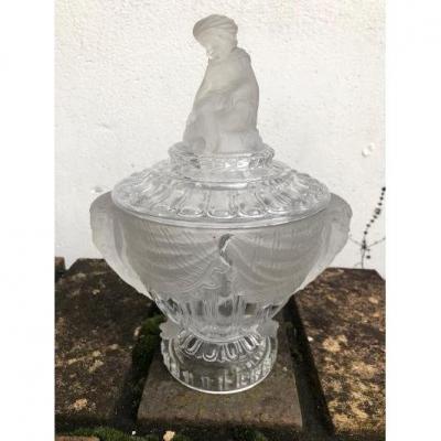 Napoléon III Baccarat Sugar Bowl