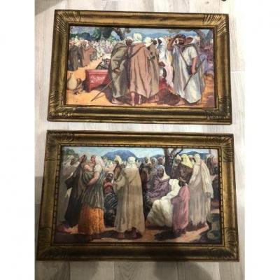 Orientaliste Painting Paul Cirou