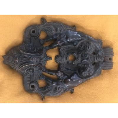 Heurtoir Bronze XVIII