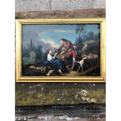 Oil Painting On Canvas XVIII Champetre Scene