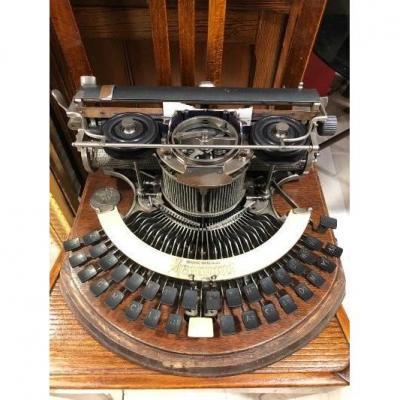 Machine A écrire Hammond 1905 Usa Dans Son Coffret d'Origine