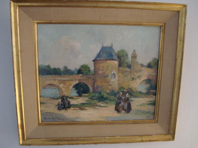 Tableau de Henri Buron : Saint-servan