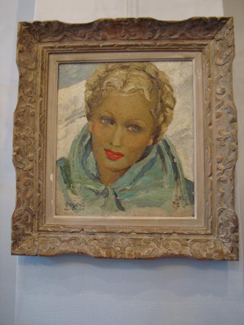 """Portrait Of A Woman """"mégève-46"""""""
