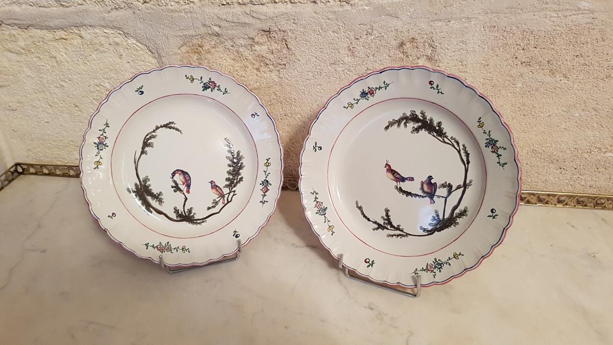 Plate Earthenware Marseille