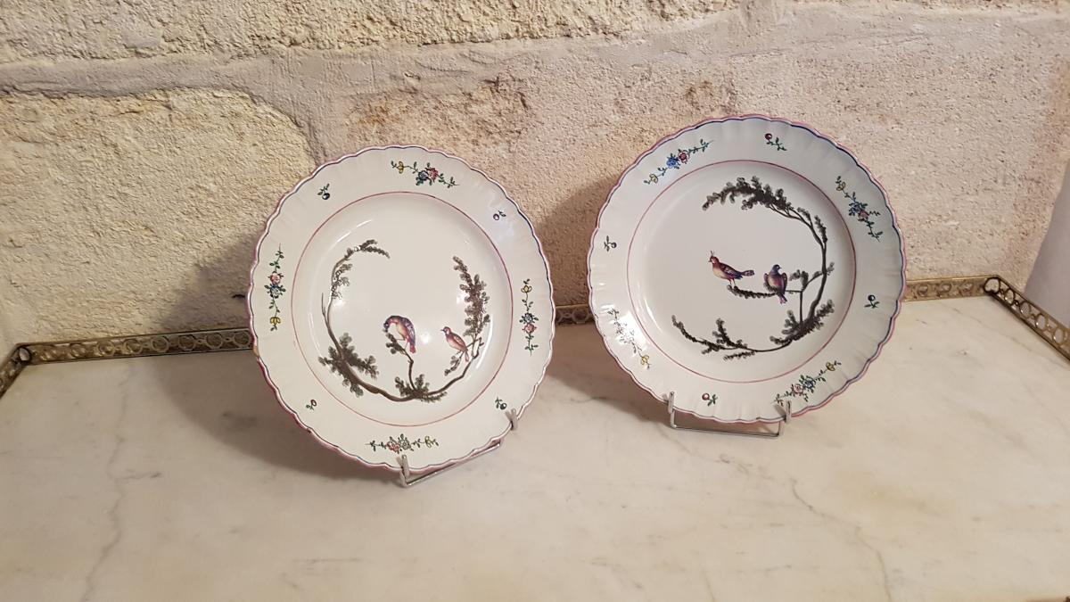 Plate Earthenware Marseille-photo-2