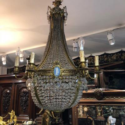 Chandelier Louis Lvi Style Hot Air Balloon XIXth Century