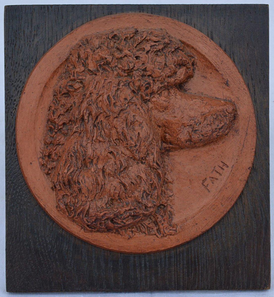 Dog Head Medallion