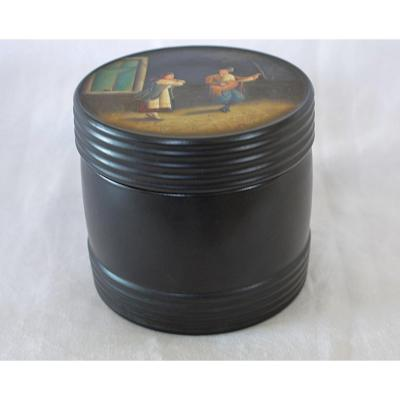Boîte russe à tabac ou thé
