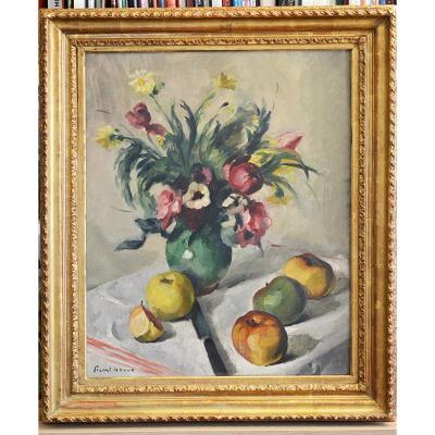 Tableau de fleurs de Picart Ledoux