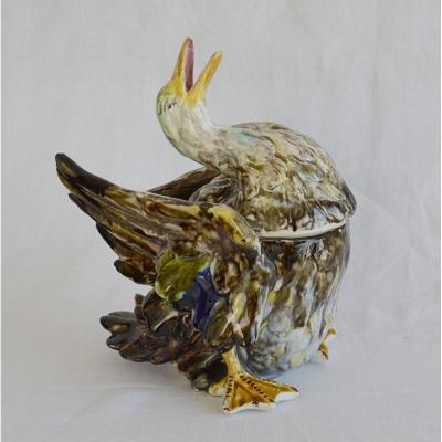 Pot à tabac au canard de Villeroy & Boch