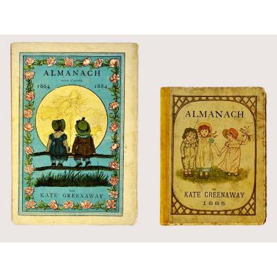 Two Almanacs Illustrated By Kate Greenaway
