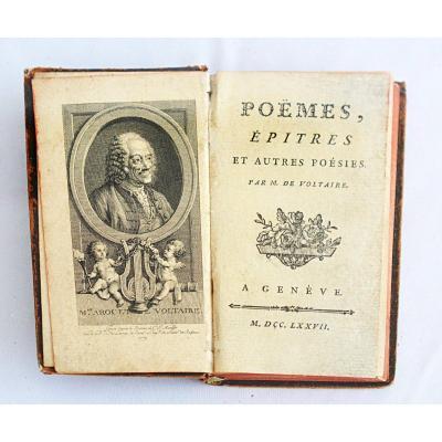Poèmes, épitres et autres poésies de Voltaire