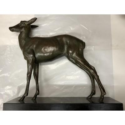 """doe"" Bronze Art-deco"