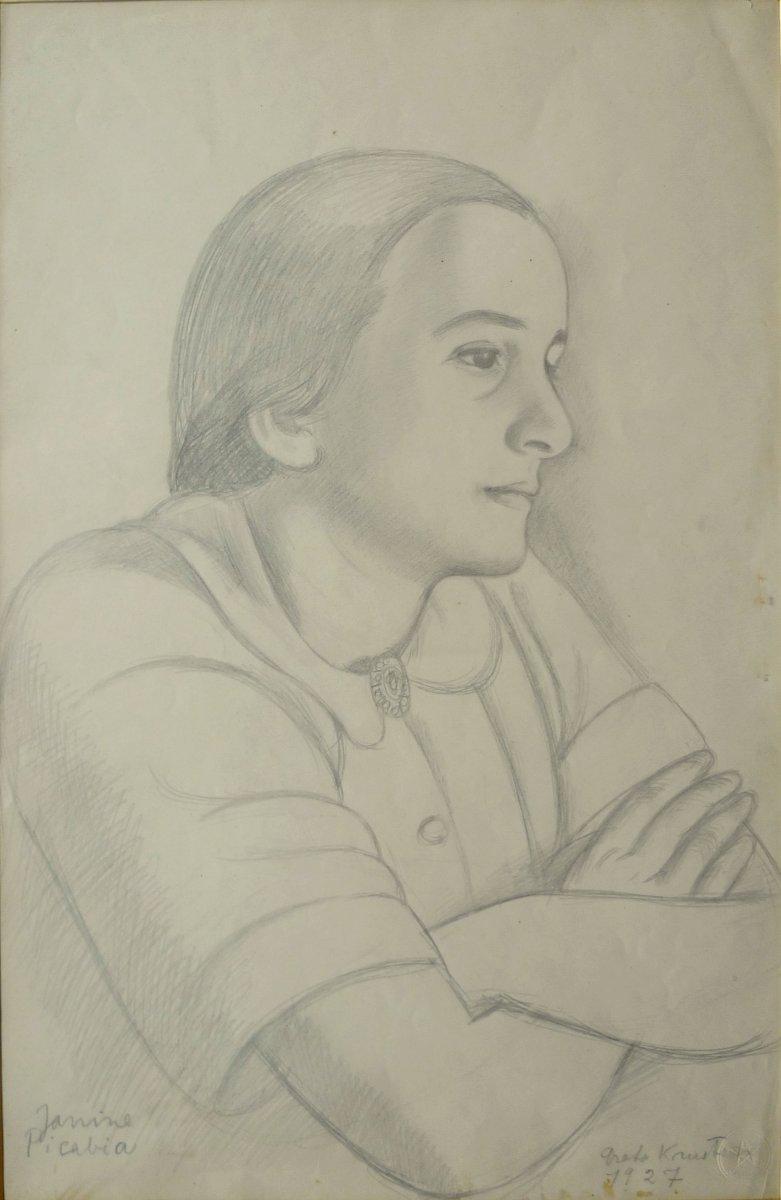 KNUTSON Greta Tzara (1899-1983)