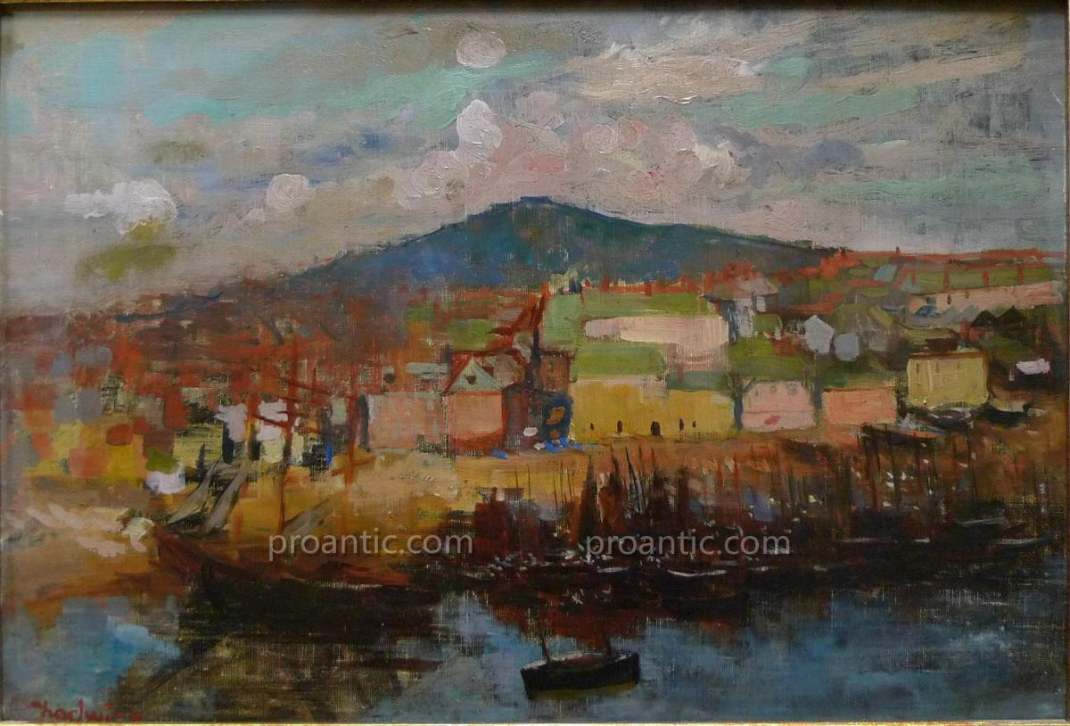"CHADWICK Francis Brook (1850-1943) ""Port"" Americain"