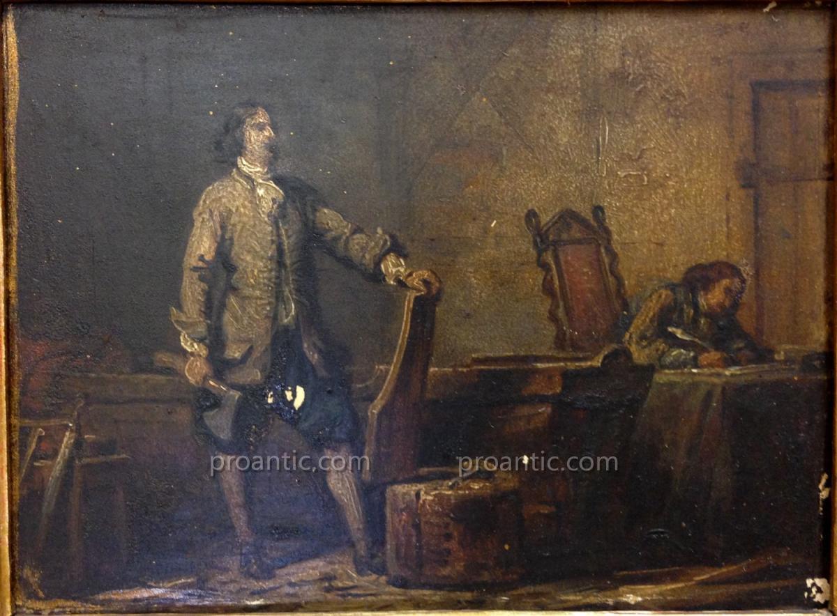"""STEUBEN (ATTRIB.) Carl August (von) (1788-1856) """"Le tzar"""""""