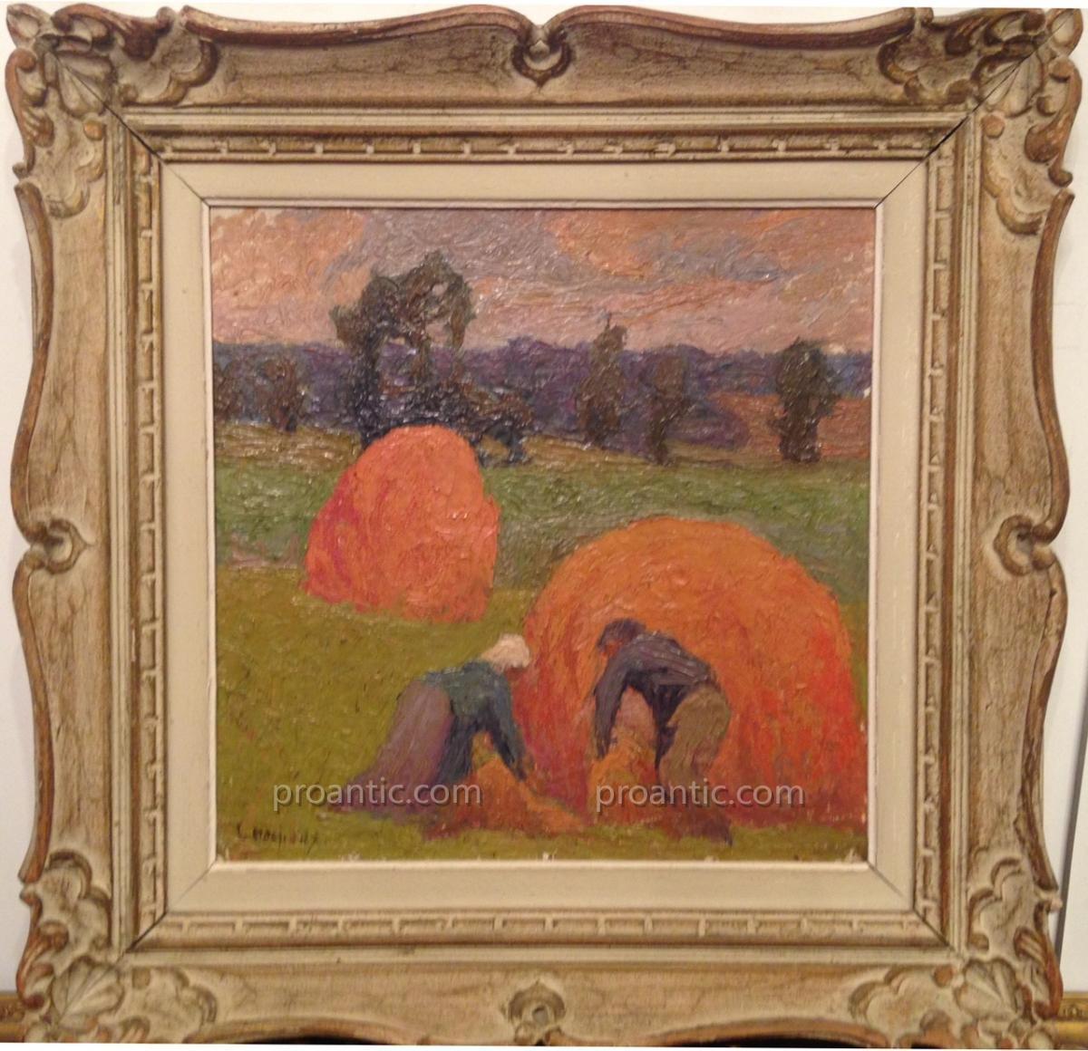 Peintres Ecole De Rouen marcel Émile couchaux (1877-1939) ecole de rouen - tableaux