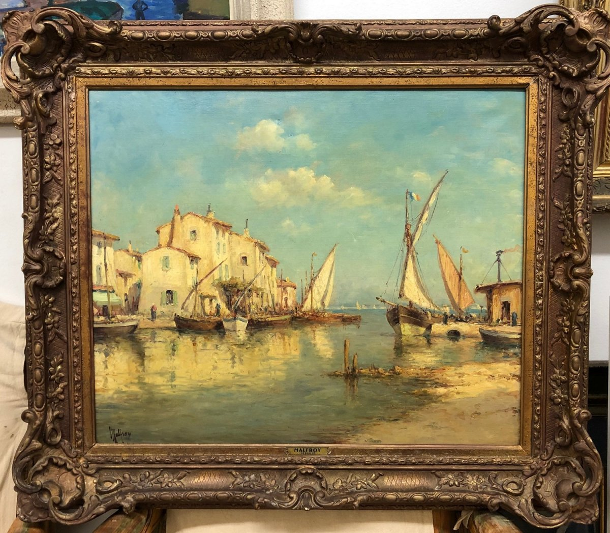 """Henry Malfroy (1895-1944) """" The Martigues"""""""