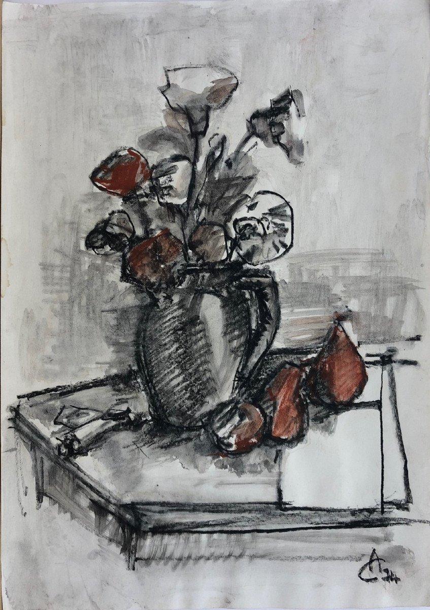 """Ciucurencu Alexandru (1903-1977) """"still Life"""" Romania"""