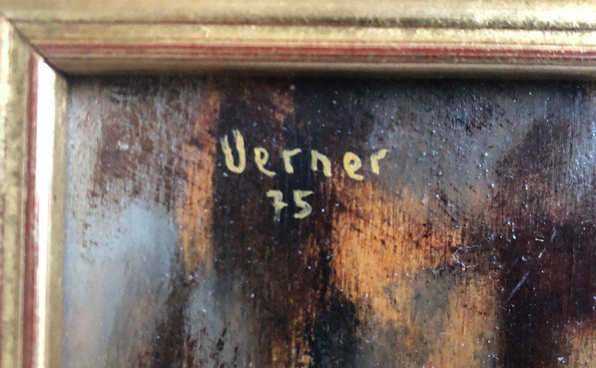 "Joseph Werner-baer (1923-1991): ""reading""-photo-2"