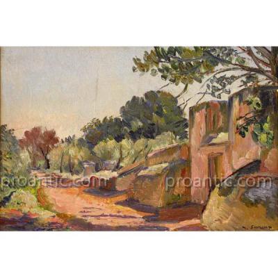 """SAVREUX Maurice (1884-1971) """"Paysage"""""""