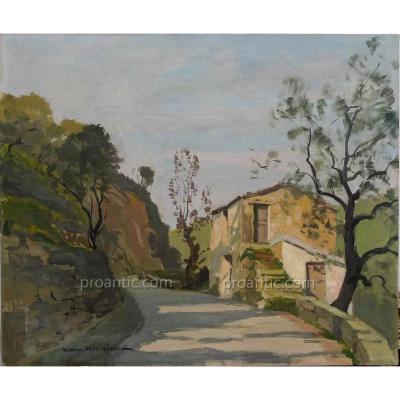 "MENARDEAU Maurice (1897-1977) ""La magnanerie"""