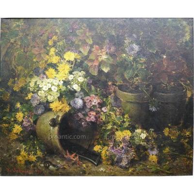"Louis Marie de Schryver (1862-1942) ""Nature morte"""