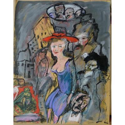 """Zvi Milshtein (1934) """"moldavian Dream"""""""