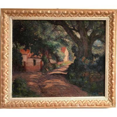 "Georges Guido Filiberti (1881-1970) ""provencal Landscape"""
