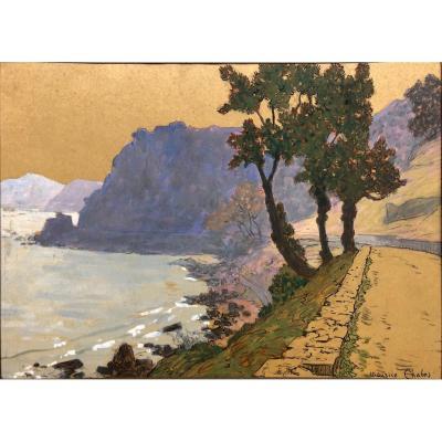 "Maurice Chabas (1862-1947): ""sea Side Nabis"""