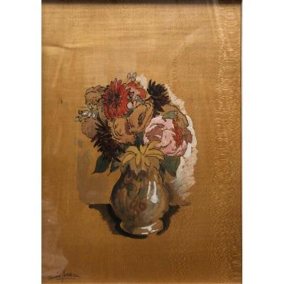"ClÉment-serveau (1886-1972): ""flowers In A Vase"""