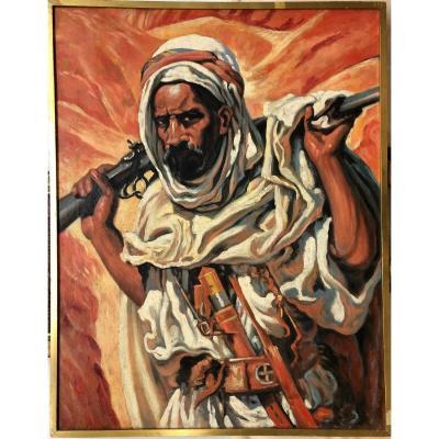 """Orientalist School XX °: """"the Gazelle Hunter"""""""