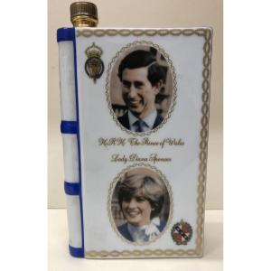 <br /> <strong>Camus Cognac Royal Wedding 1981 Decanter</strong><br /> Still a family owned company, Camus sold mainly to the Tzars of Russia until the revolution. They managed to avoid bankruptcy in the 1960s by striking a deal with American traders under the name of &ldquo;Duty Free Shoppers&rdquo;, a relationship which is as strong today as it was back in the 1960<br /> Camus bottled this book decanter as a &rdquo; La Grande Marque&rdquo; for the Royal Wedding in&nbsp;July 29 1981 of Prince Charles and Princess Diana.<br /> 40\% ABV / 70cl<br /> &nbsp;
