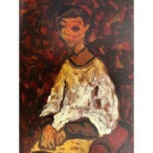 """""""Le grand enfant de choeur""""; Ecole de Chaim Soutine; Ecole de Paris, Juif Russe"""