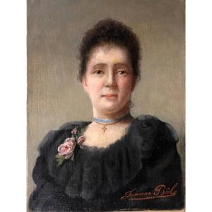 Bole Jeanne, comtesse Toulza (XIX° siècle),