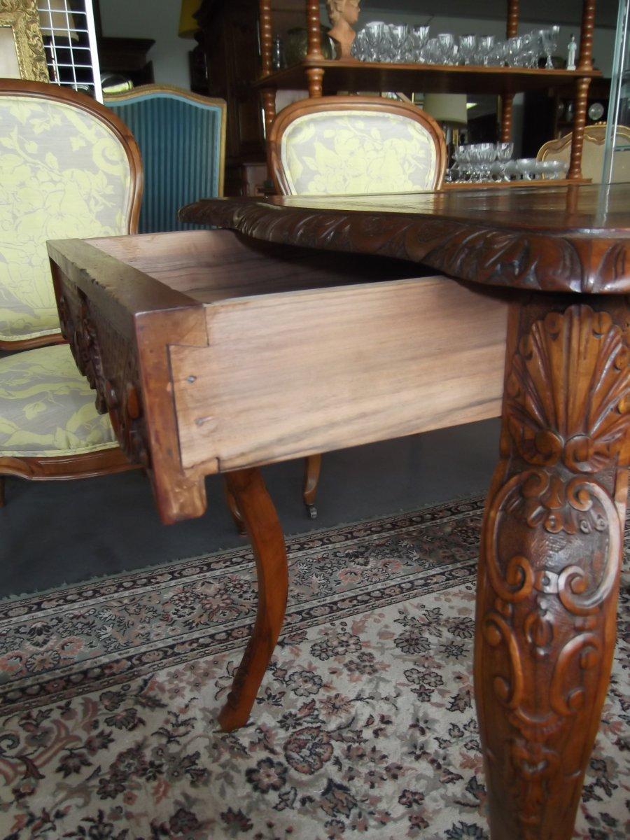 Louis XV Style Table-photo-1