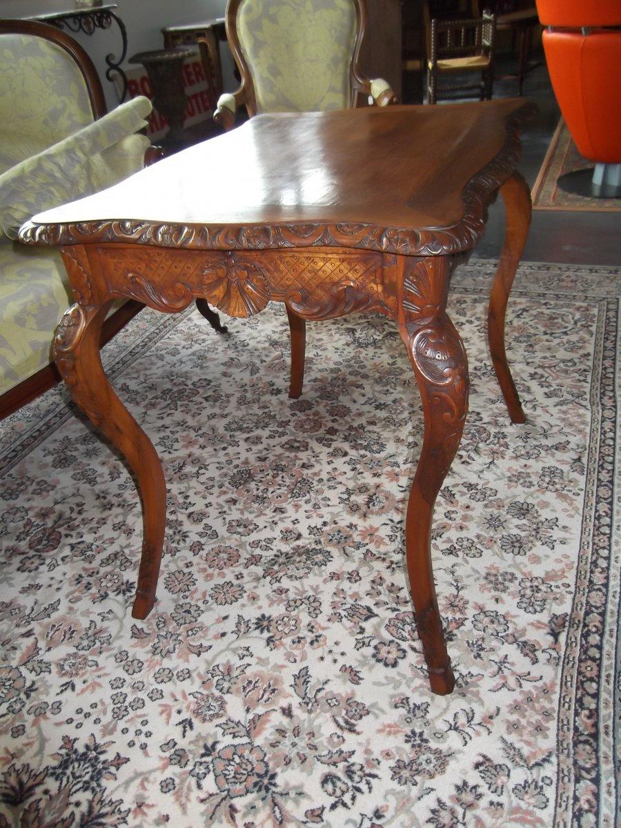 Louis XV Style Table-photo-2