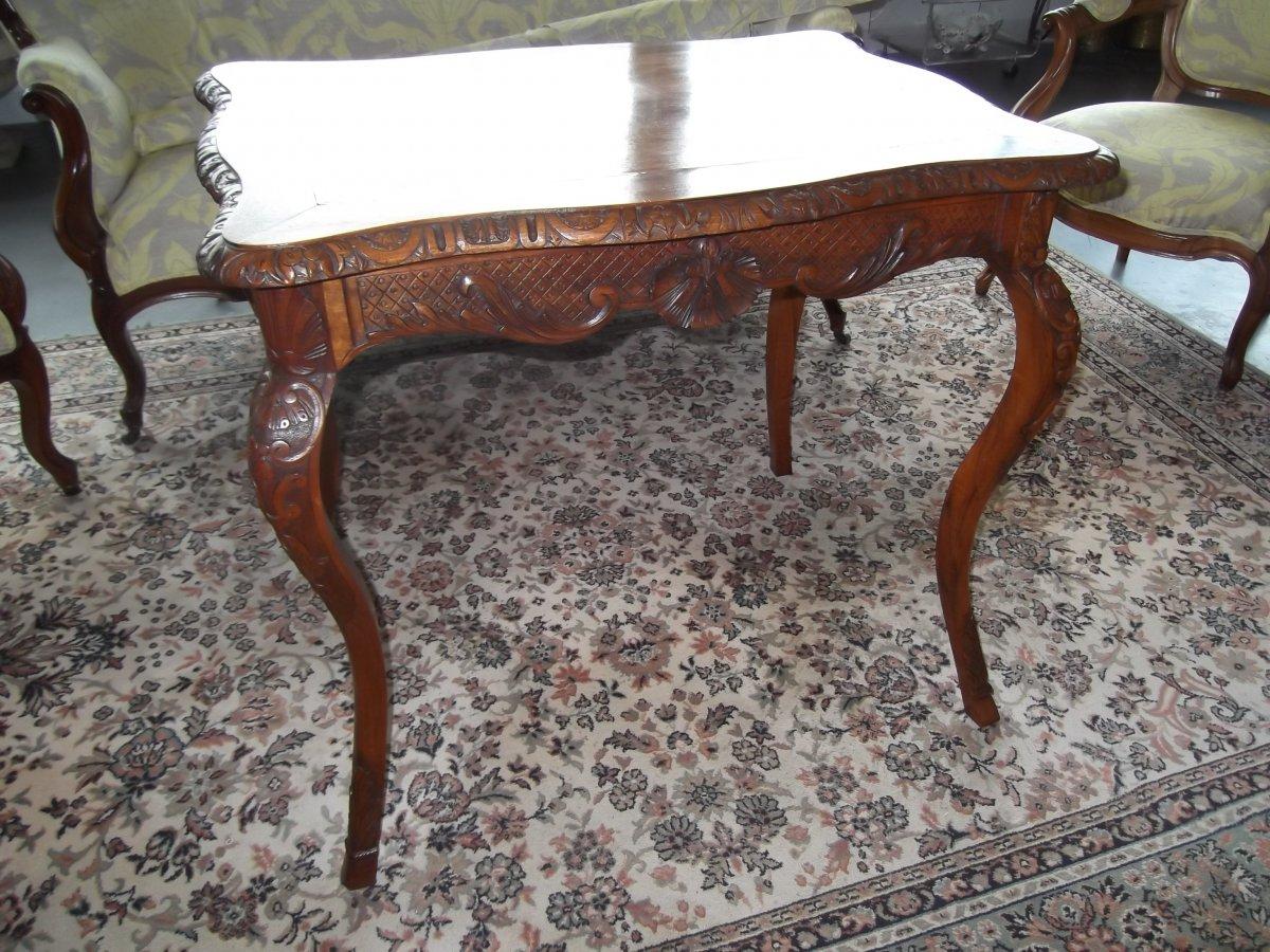 Louis XV Style Table-photo-3
