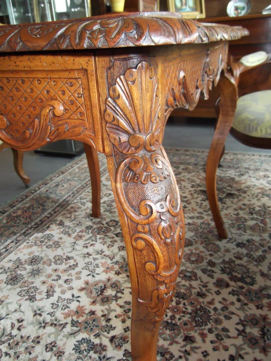 Louis XV Style Table-photo-5