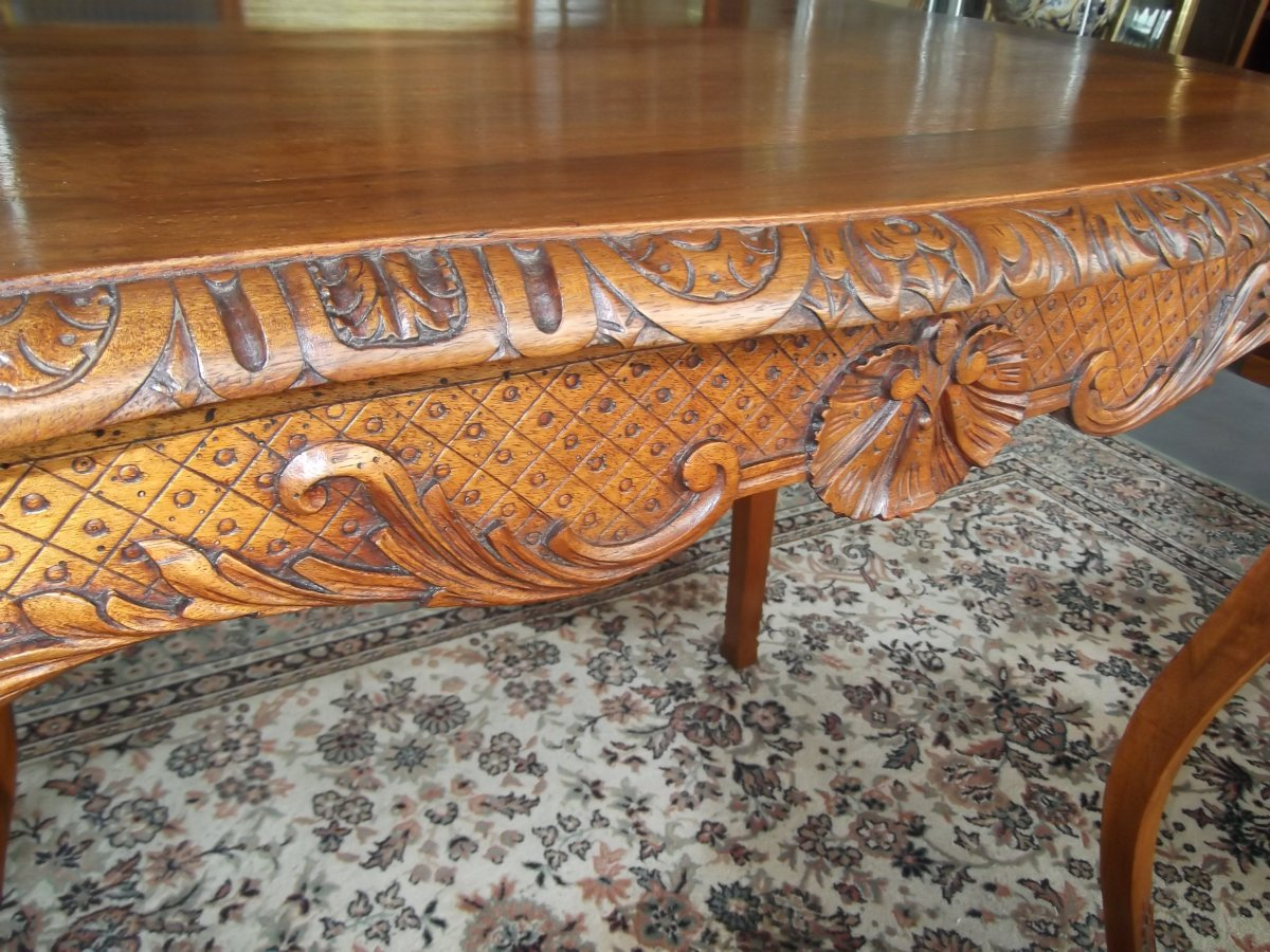 Louis XV Style Table-photo-6
